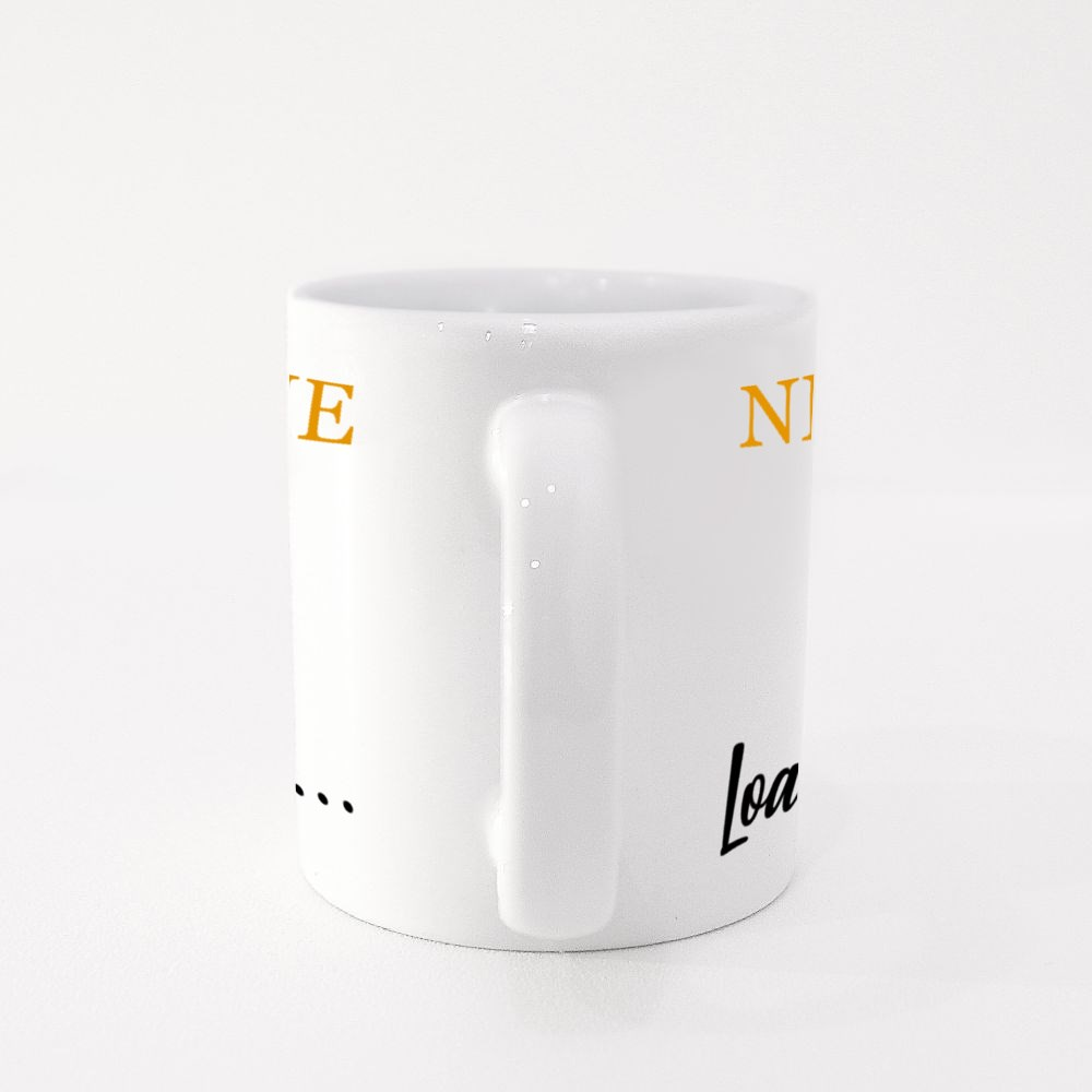 New Me Is Loading Colour Mugs