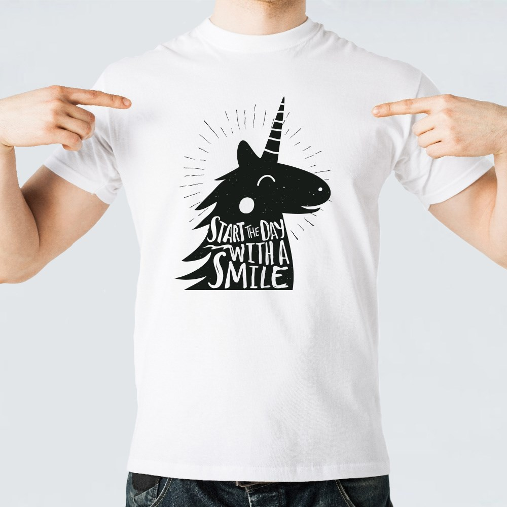 Start the Day With a Smile T-Shirts