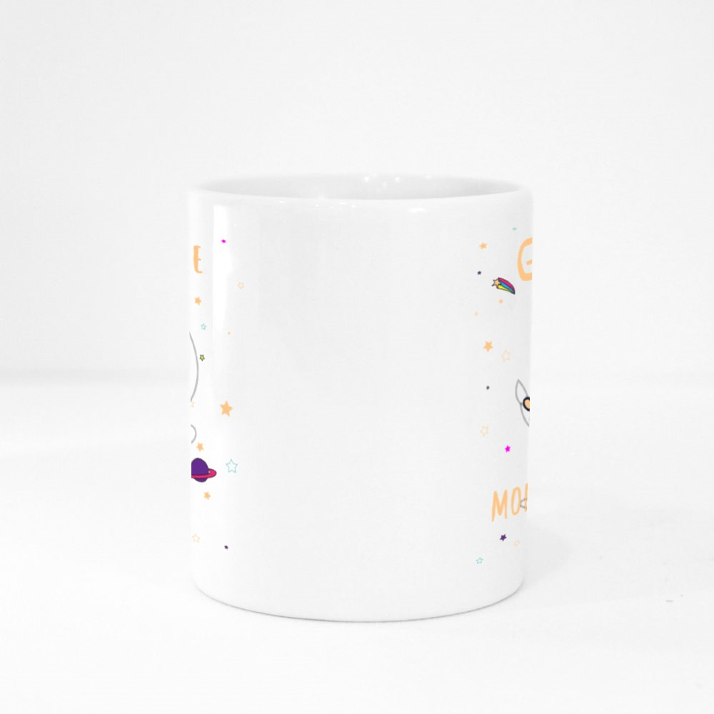 Give Me More Space Colour Mugs
