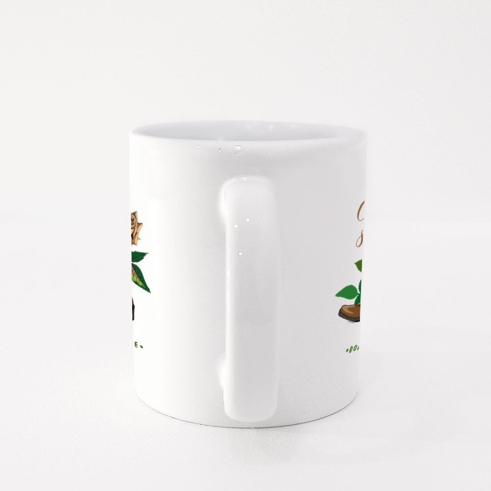 Ranch Boots and Rose Flower Colour Mugs