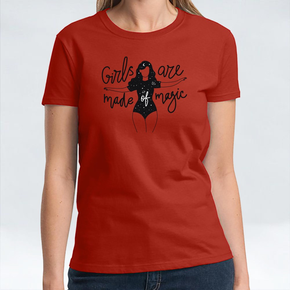 Girls Are Made of Magic T-Shirts