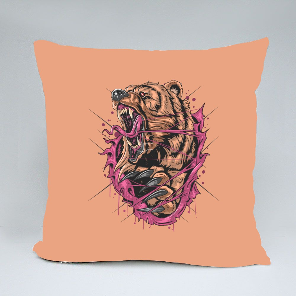 Bear Grizzly Angry Bantal