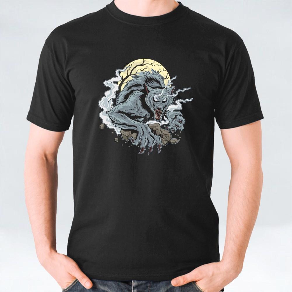 Ware Wolf Dark Night T-Shirts