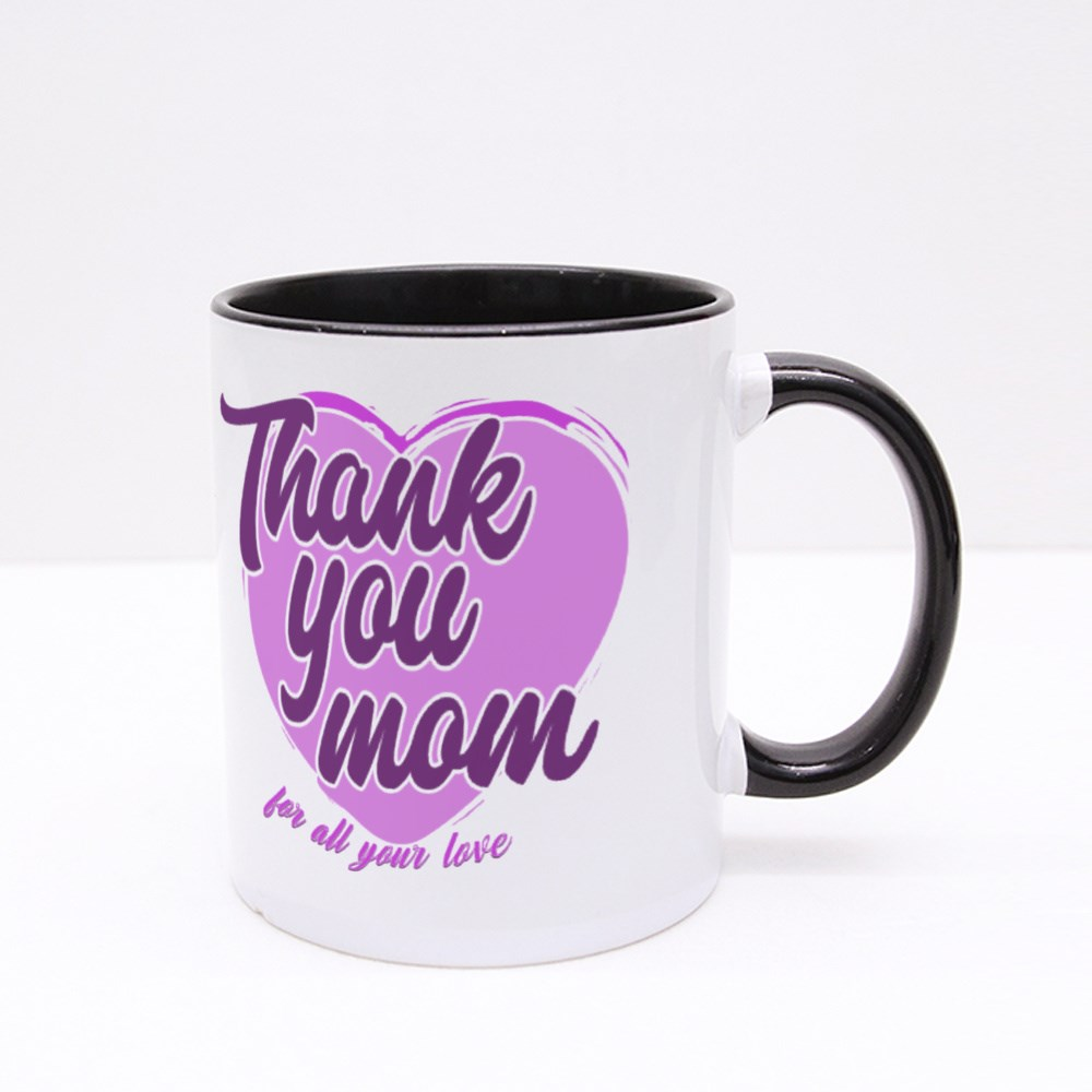 Thank You for All Your Love Colour Mugs