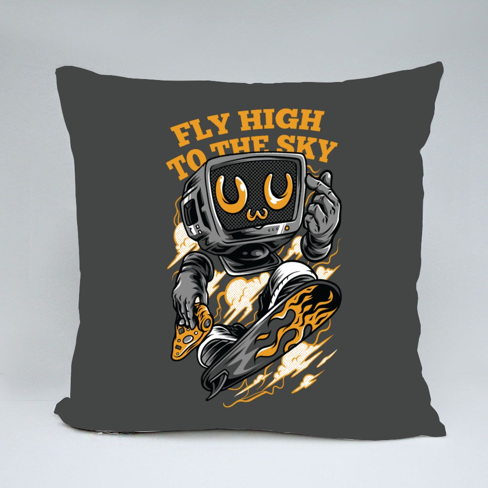 Fly High to the Sky Neon Bantal
