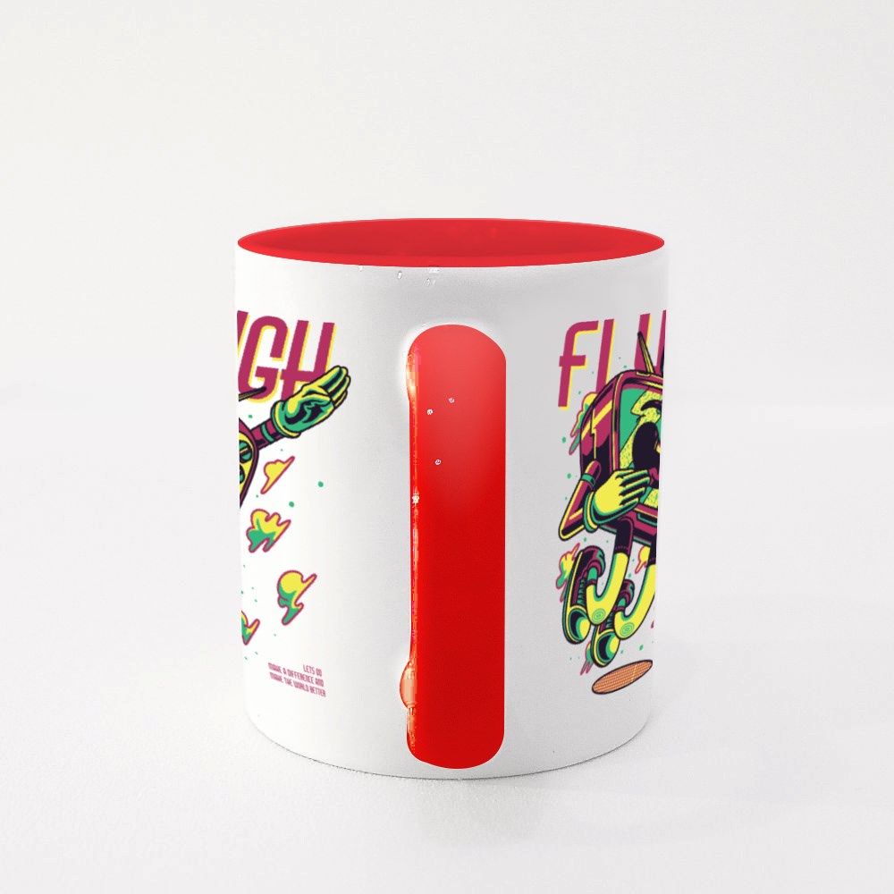 Tv Flyhigh To The Sky Colour Mugs