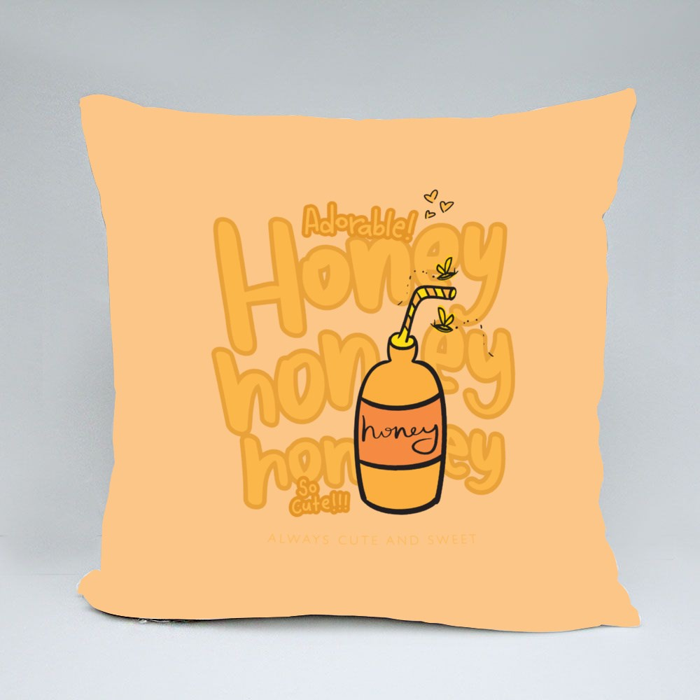 Honeys and Bees Throw Pillows