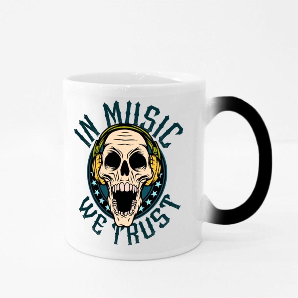 In Music We Trust Magic Mugs