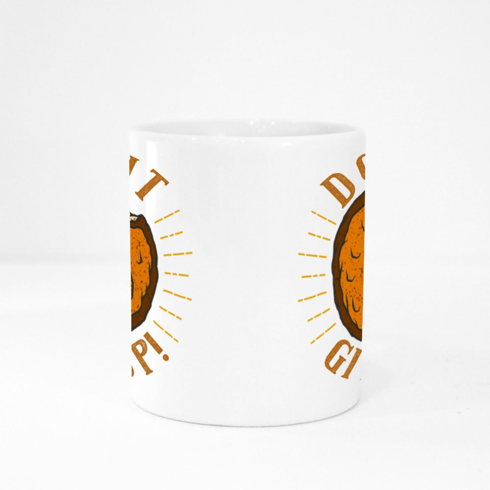 Donut Ever Give Up Colour Mugs