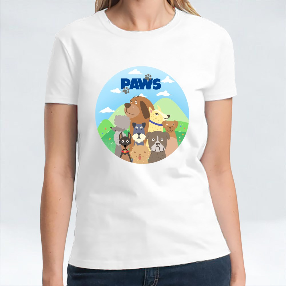 Paws Happy Dogs T-Shirts
