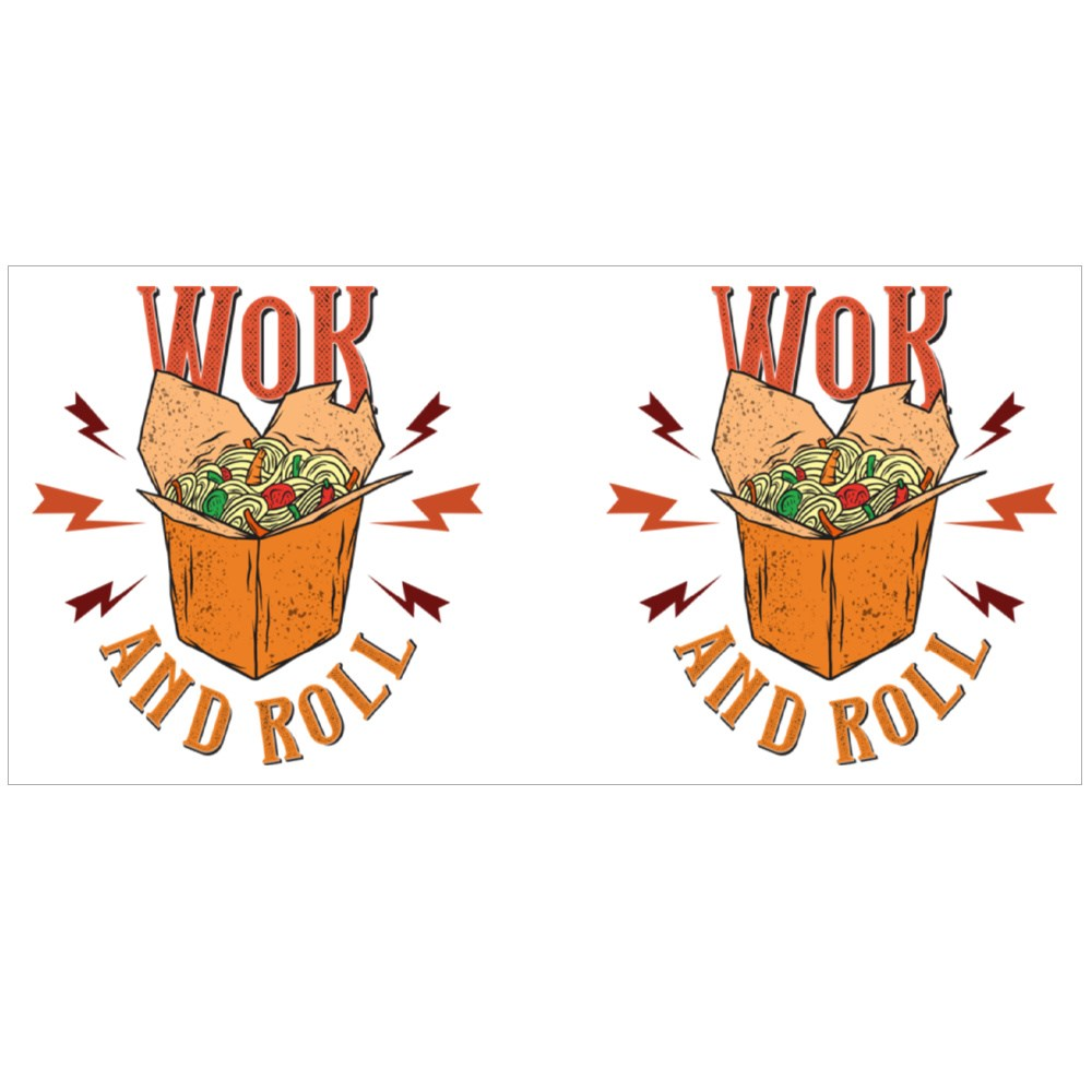 Wok and Roll Boxed Noodle Magic Mugs