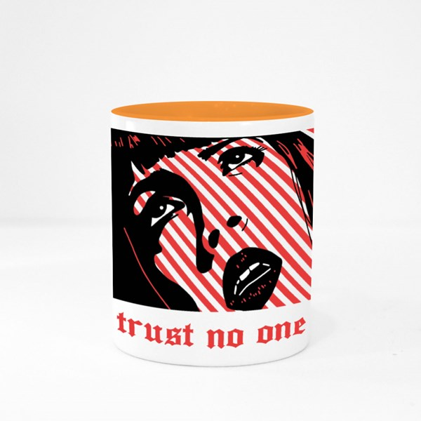 Please Trust No One 彩色杯