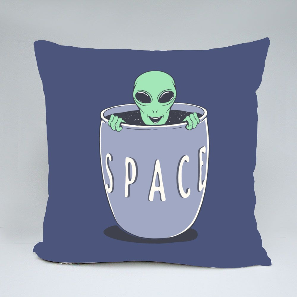 Pop Out from Bowl of Space Bantal