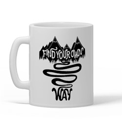 Find Your Way (Mountain Graphic)