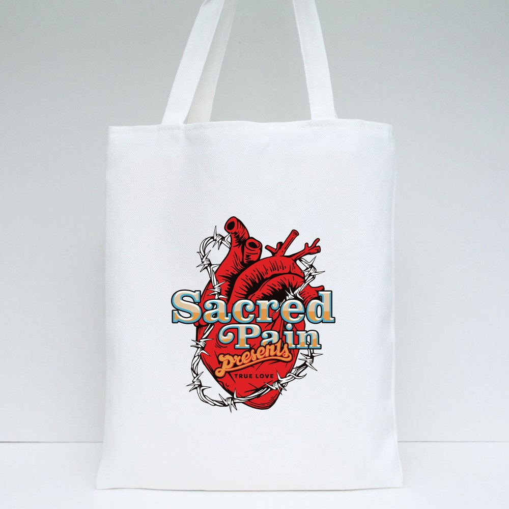 Sacred Pain Presents Tote Bags