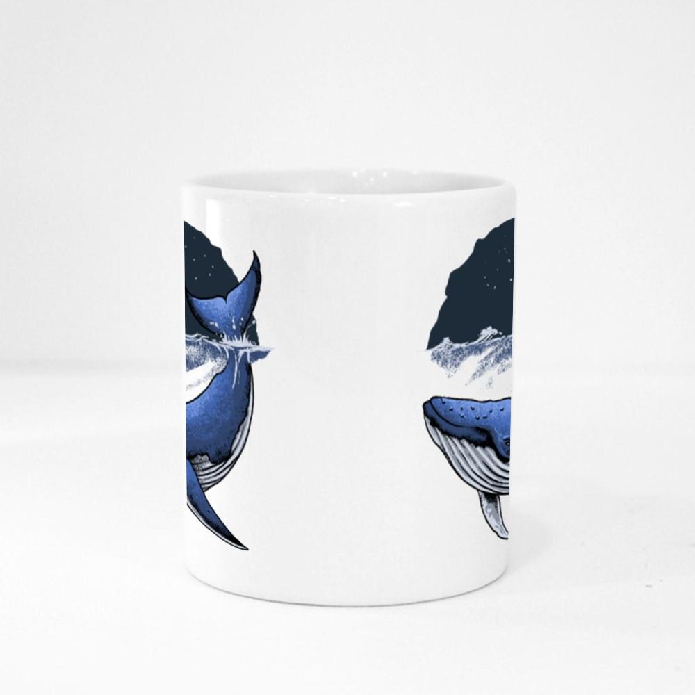 Blue Whale Ocean Magic Mugs