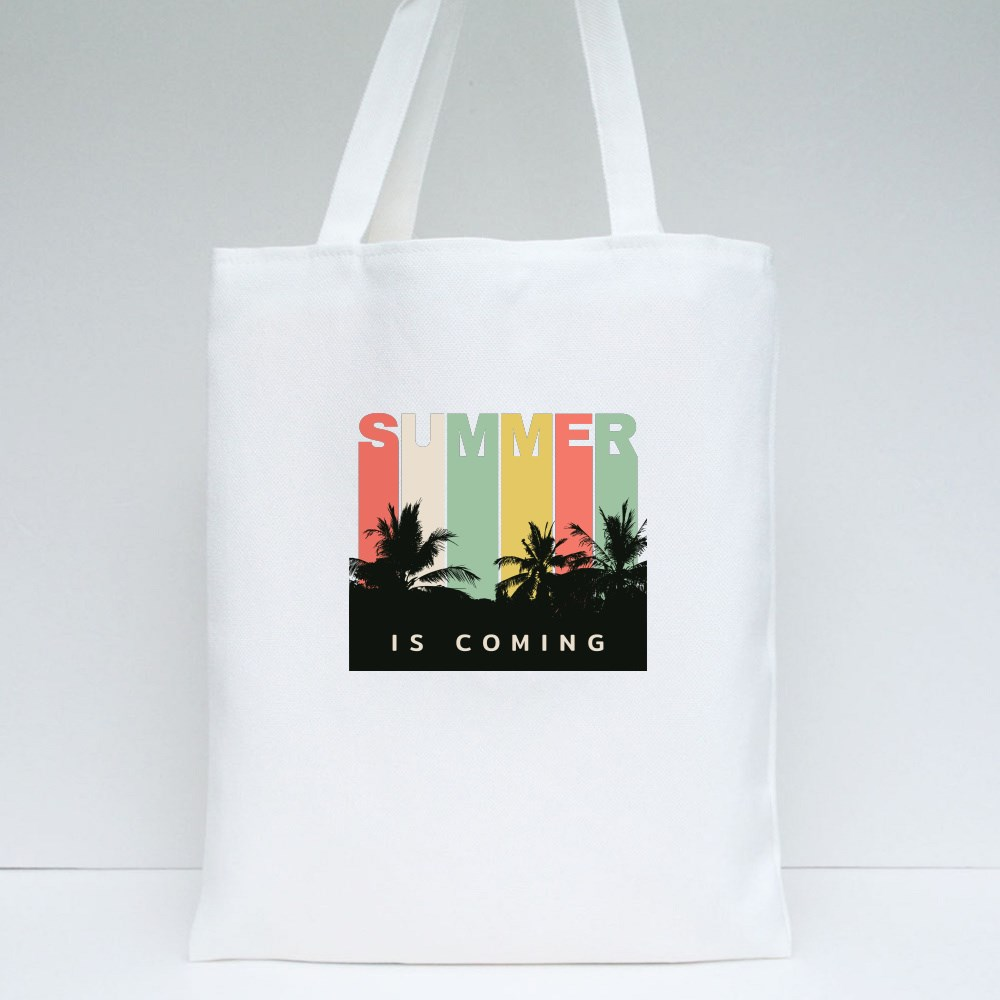 Summer Is Coming Tote Bags