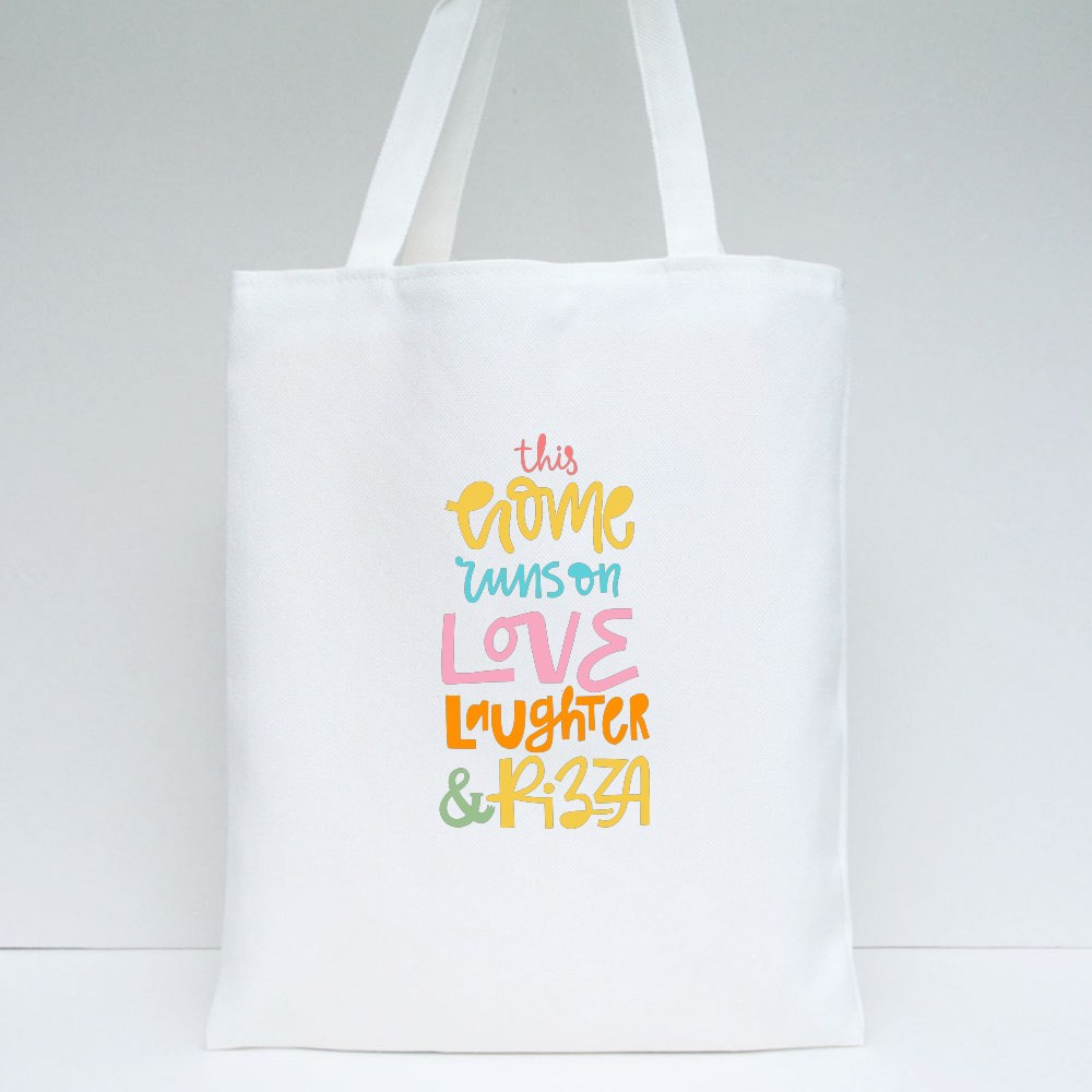 This Home Runs on Love Tote Bags