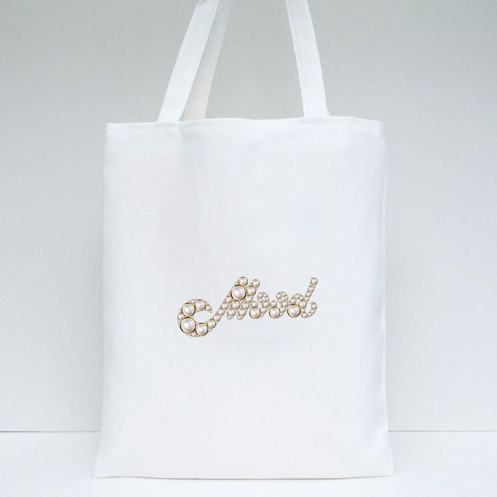 Mood of  Pearls Tote Bags