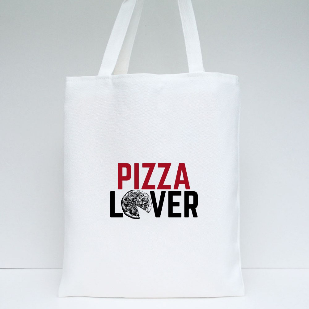 Pizza Lover of Pizza Tote Bags