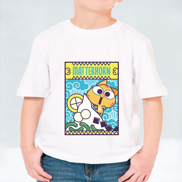 Miao Patch: Matterhorn V1 T-Shirts (Kid)