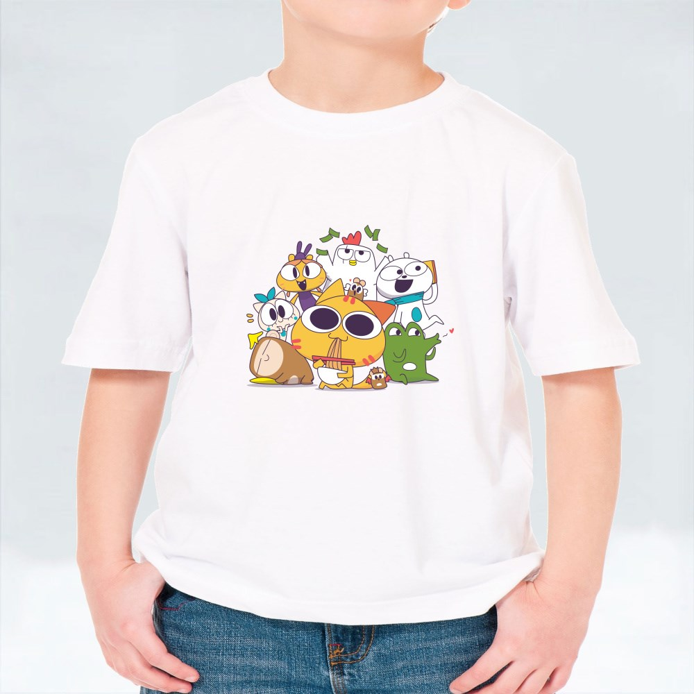 Miao and the Gang: Together V2 T-Shirts (Kid)