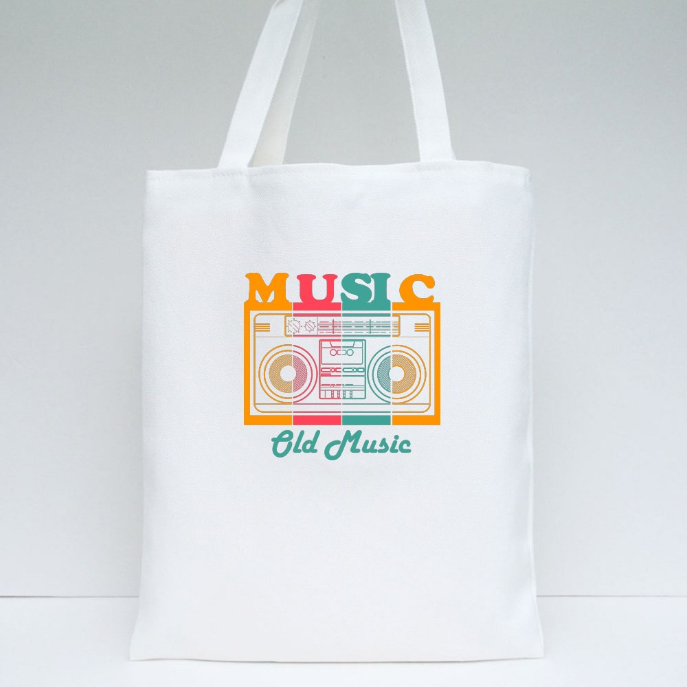 Music Old Music Tote Bags