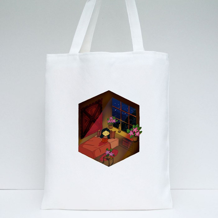 Night Vibes Tote Bags