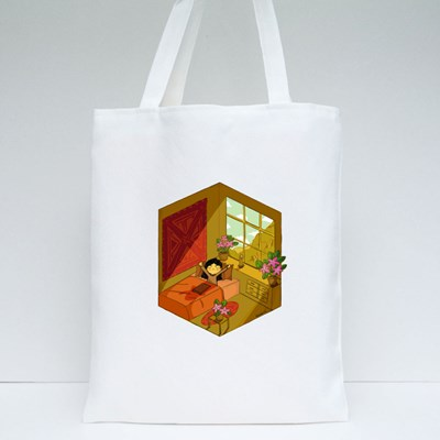 Morning Vibes Tote Bags