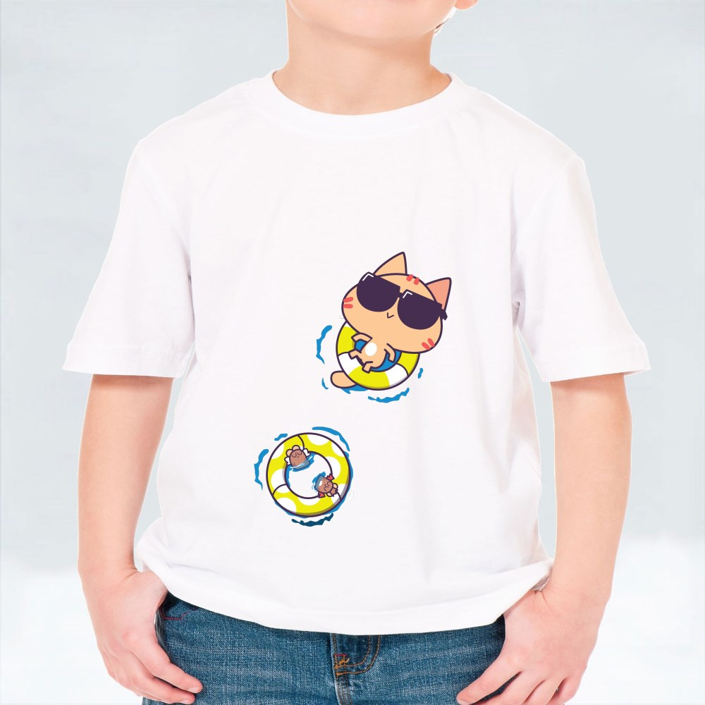 Miao : Float and Chill T-Shirts (Kid)