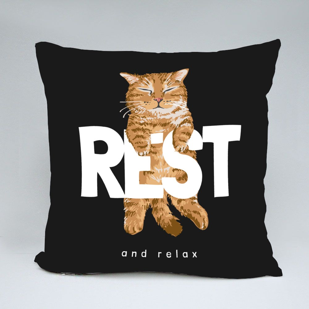 Rest and Relax Sleeping Cat Bantal