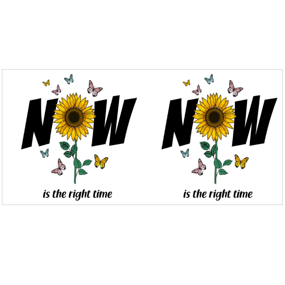 Now Is the Right Time Colour Mugs
