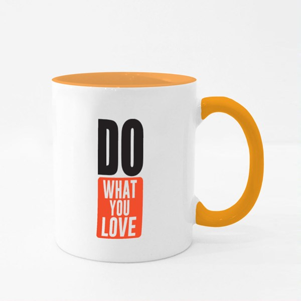 Do What You Love 彩色杯