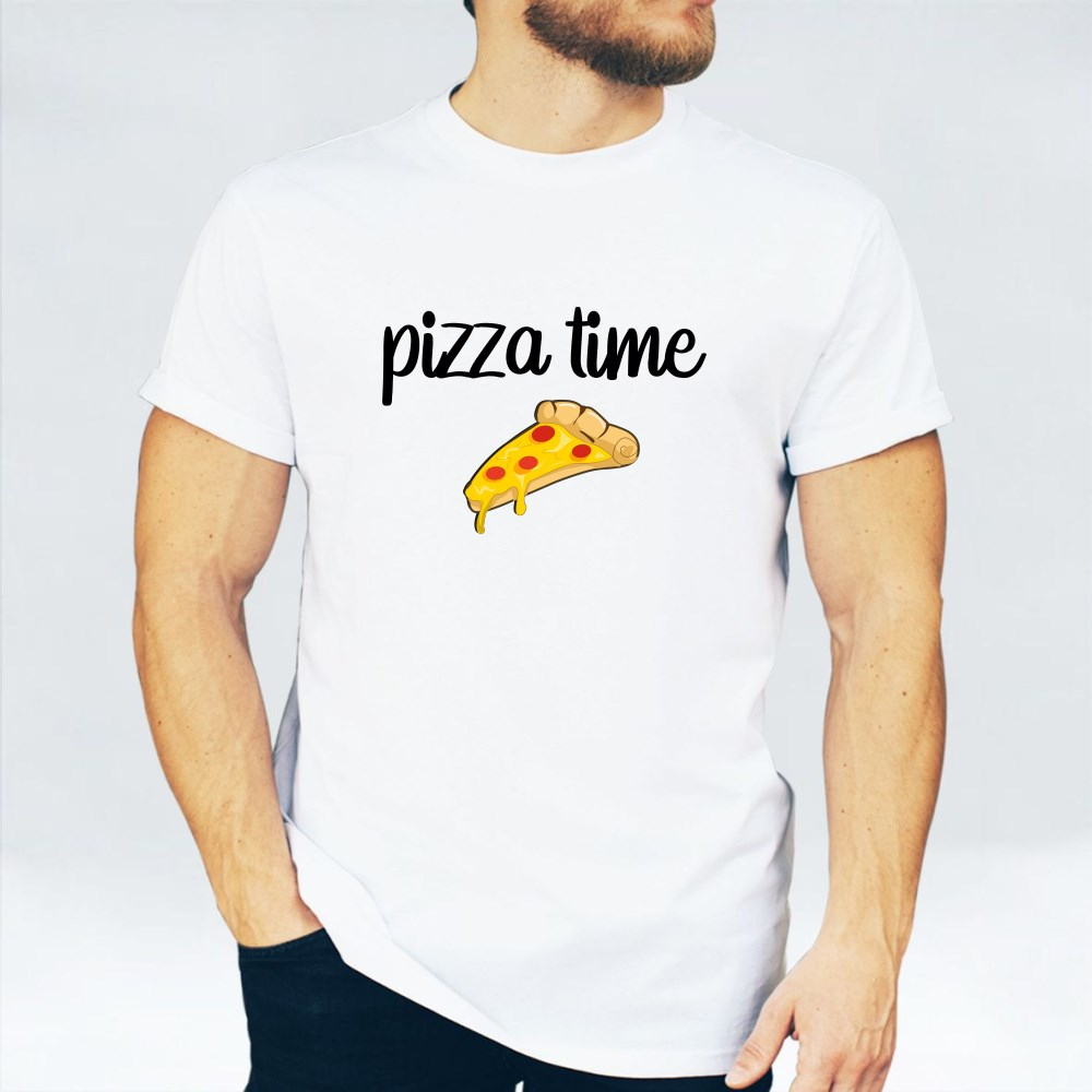 Pizza Time With Your Partner T-Shirts