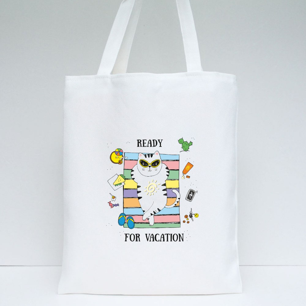 Ready for Vacation Tote Bags