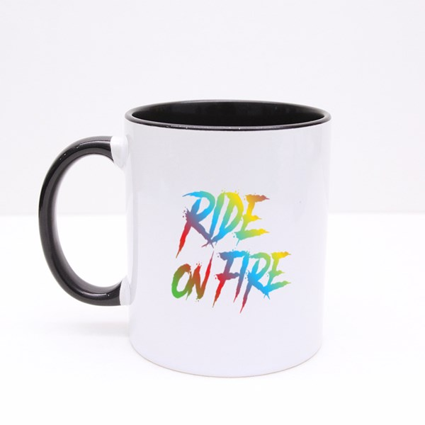 Ride on Fire Colorful 彩色杯
