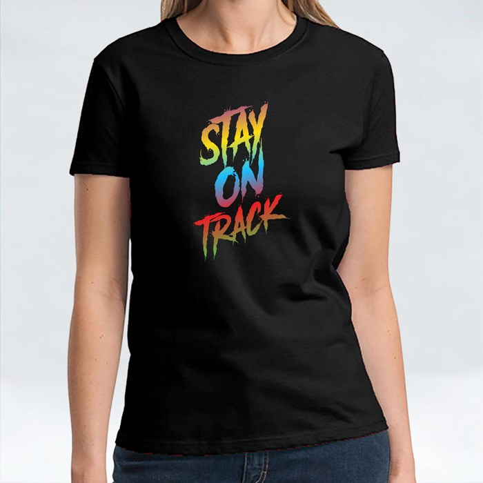Stay on Track Colorful 短袖T恤