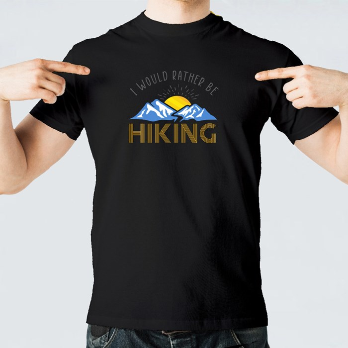 I Would Rather Be Hiking 短袖T恤
