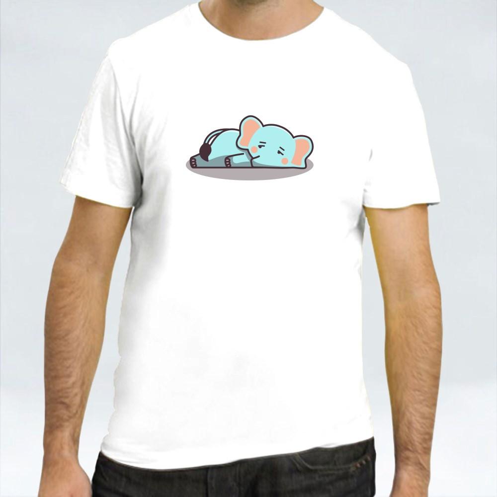 Bored Lazy Elephant T-Shirts