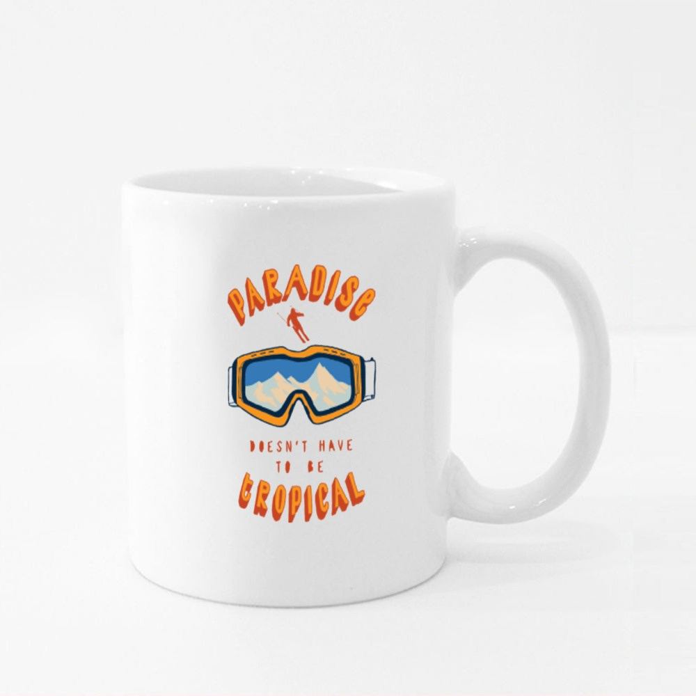 Doesn't Have to Be Tropical Colour Mugs