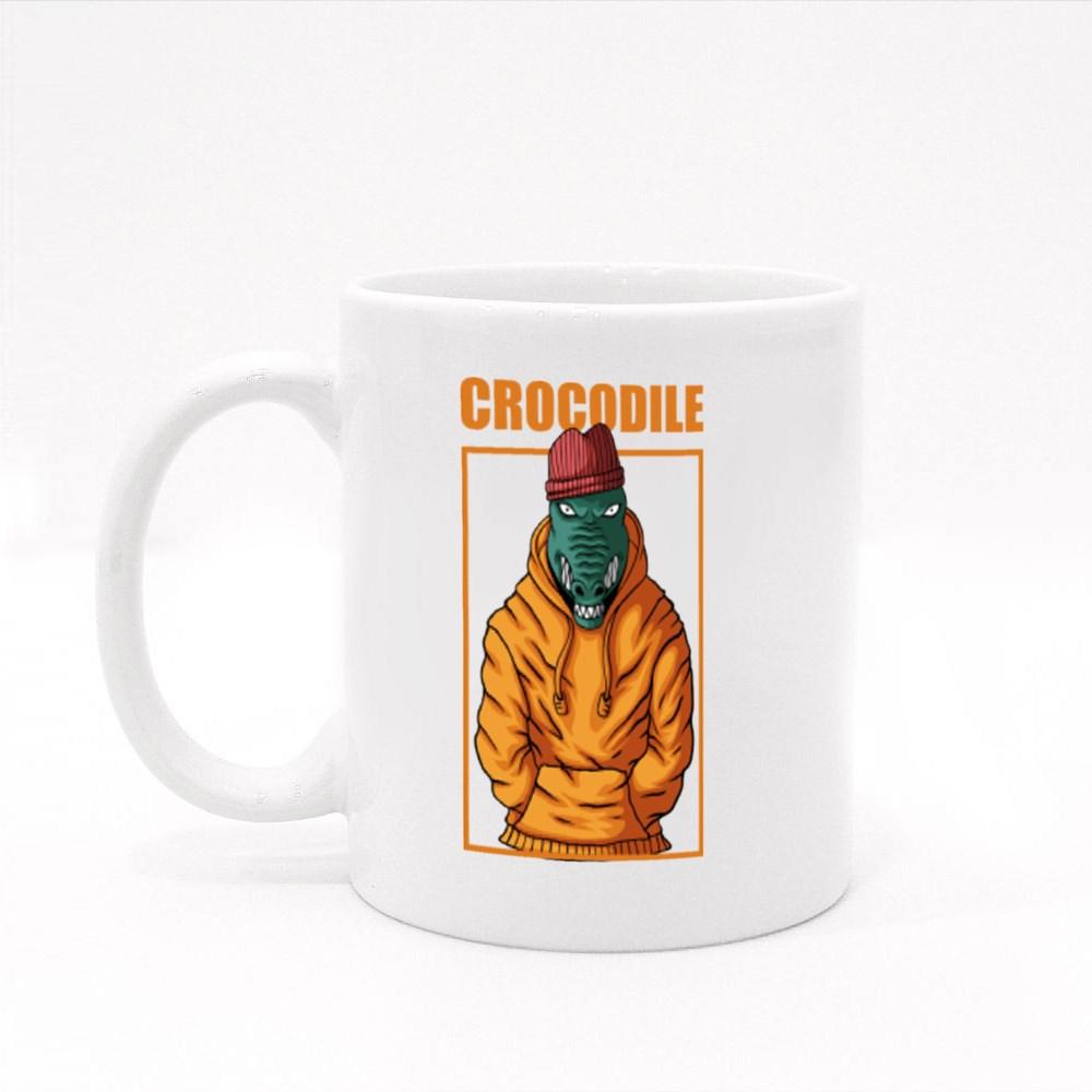 Crocodile Fashion Colour Mugs