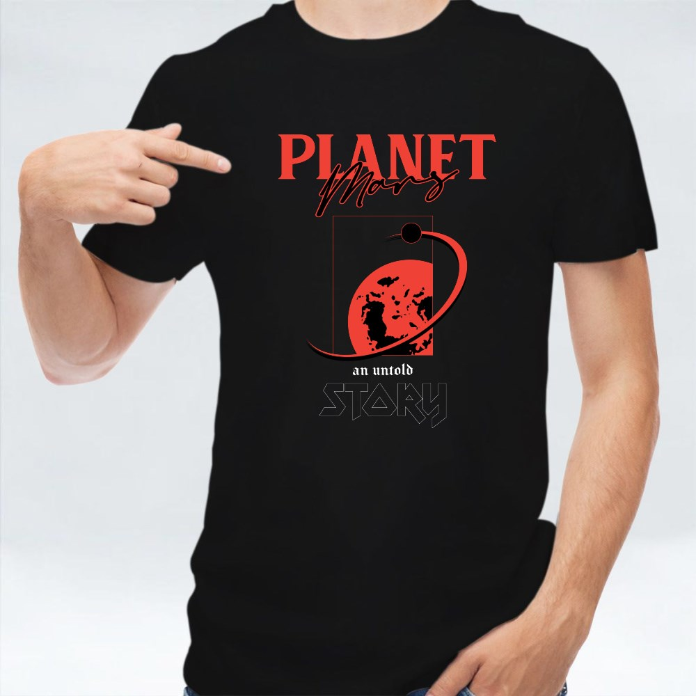 Planet Mars an Untold Story T-Shirts