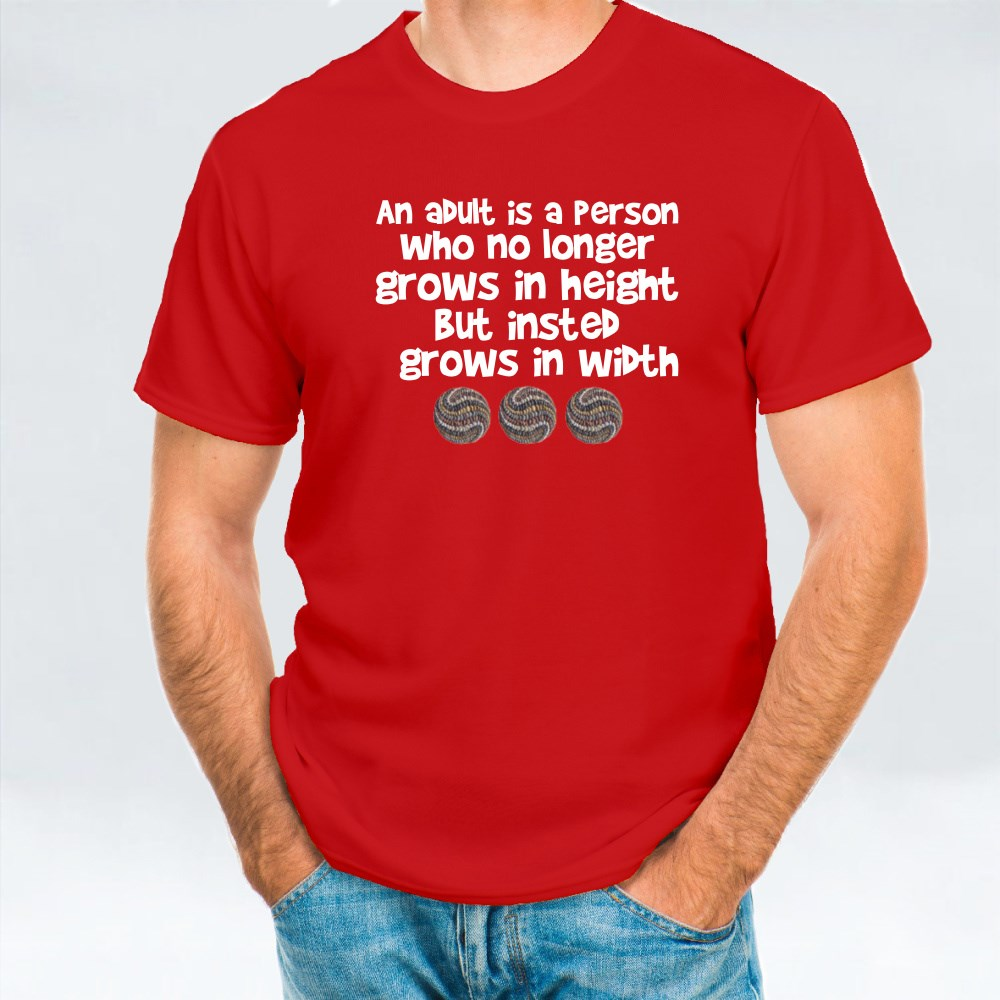 An Adult Is T-Shirts