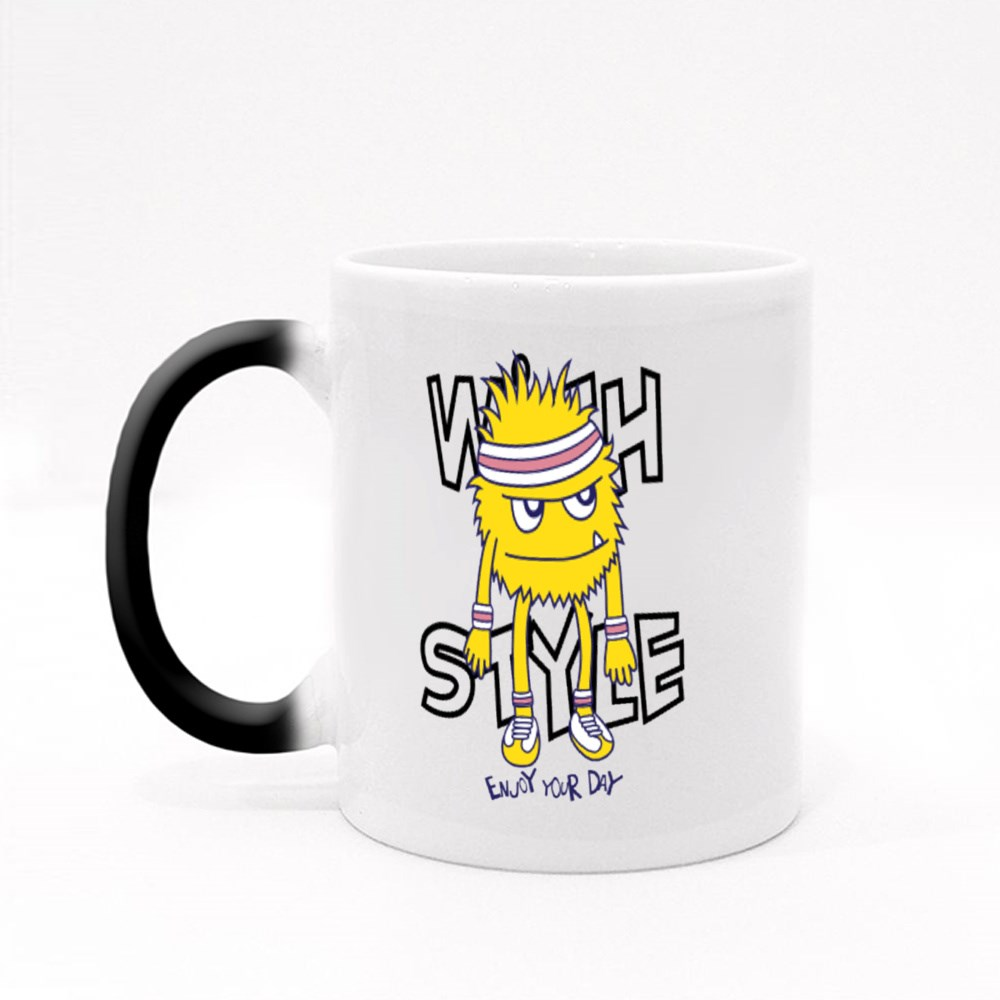 Enjoy Your Day With Style Magic Mugs