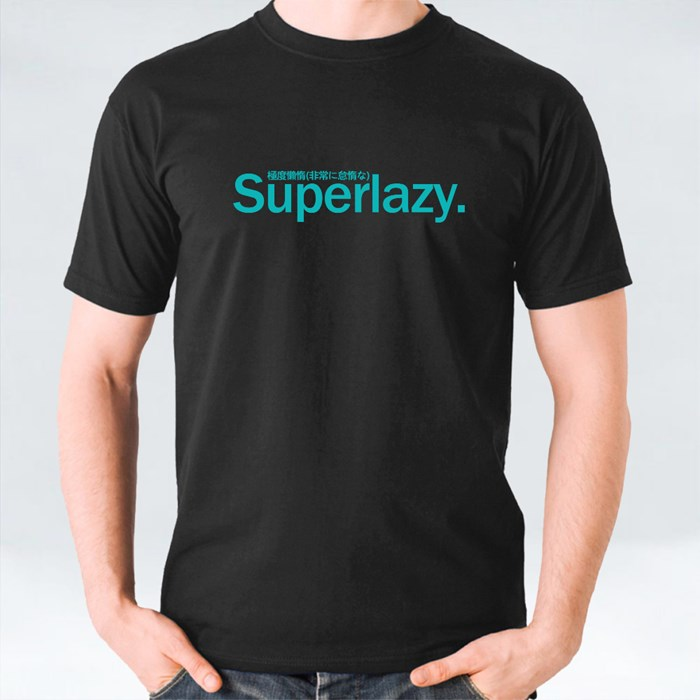 Superlazy (Black) 短袖T恤