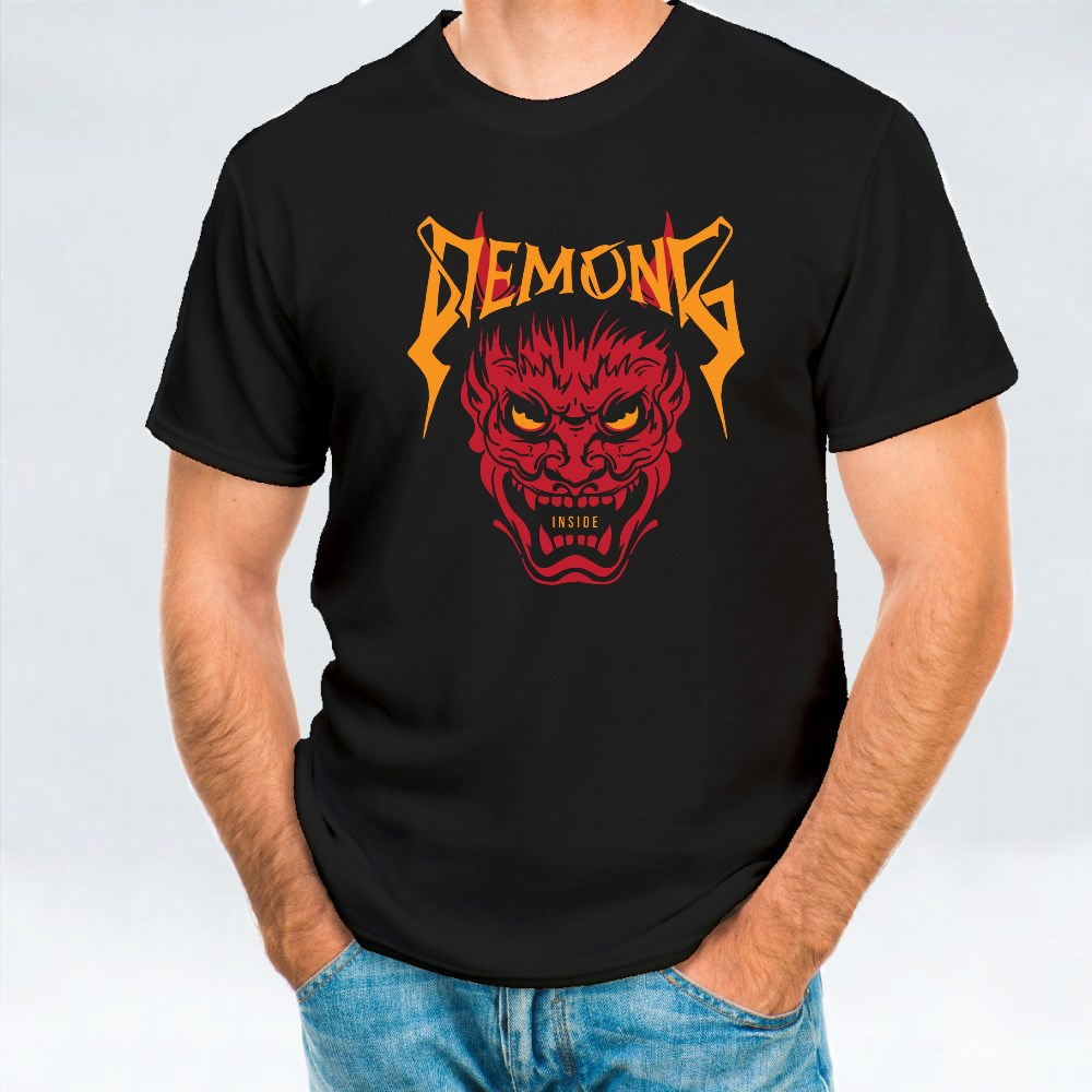 Demons Inside. Scary T-Shirts