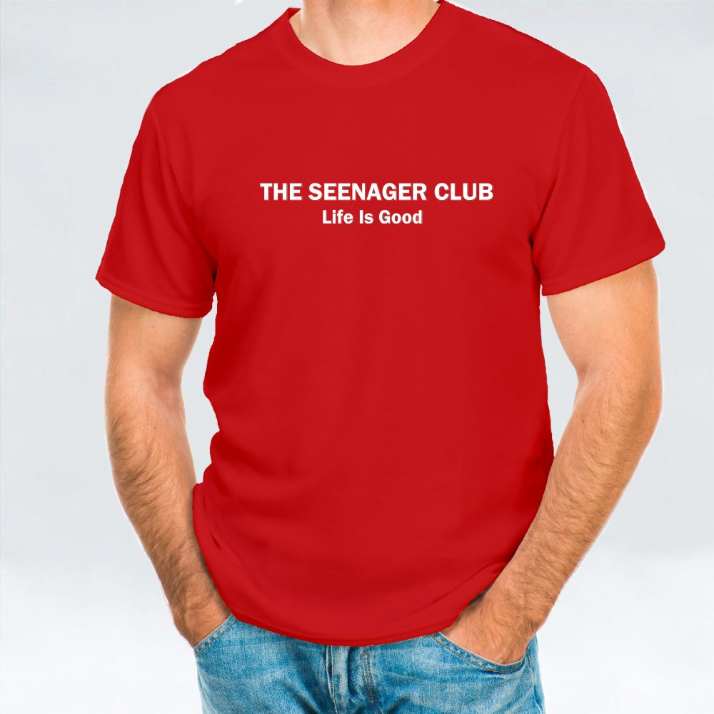 The Seenager Club T-Shirts