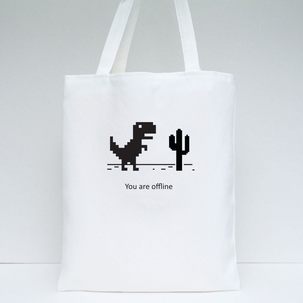 You Are Offline Tote Bags