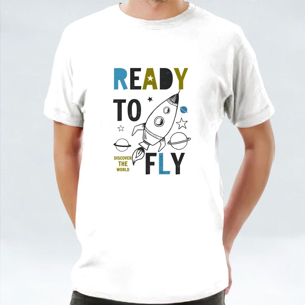 Ready to Fly Discover the World T-Shirts
