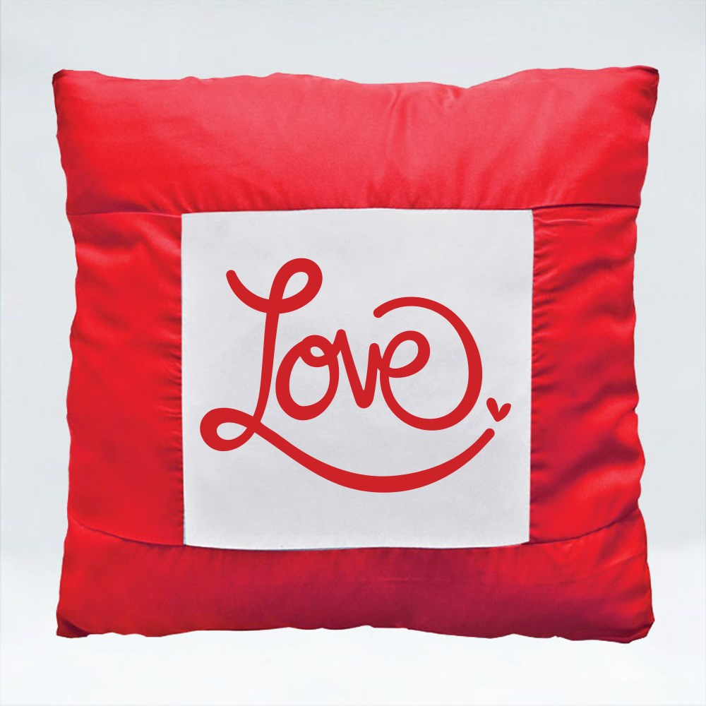 Cushions > Cushions (Square) > Love Typography